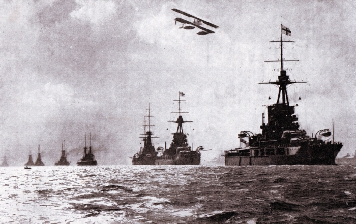 28.9.b British Grand Fleet at sea