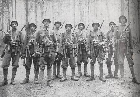 29.7.c Assault Patrol of BH Infantry Regiment