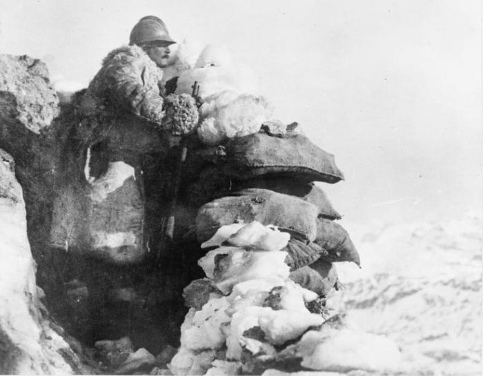 29.9.b ITALIAN SOLDIERS ITALIAN FRONT 1917