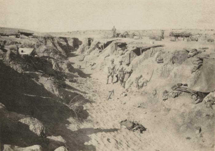 30.8.c BritishTroopsCapturedWadiTurkishDefence1917