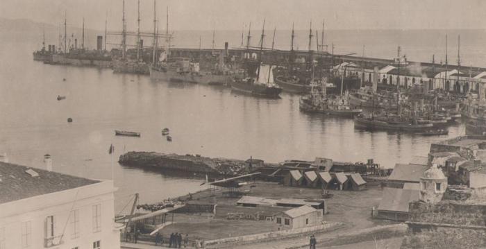 1st Aeronautical Company at Ponta Delgada, Azores