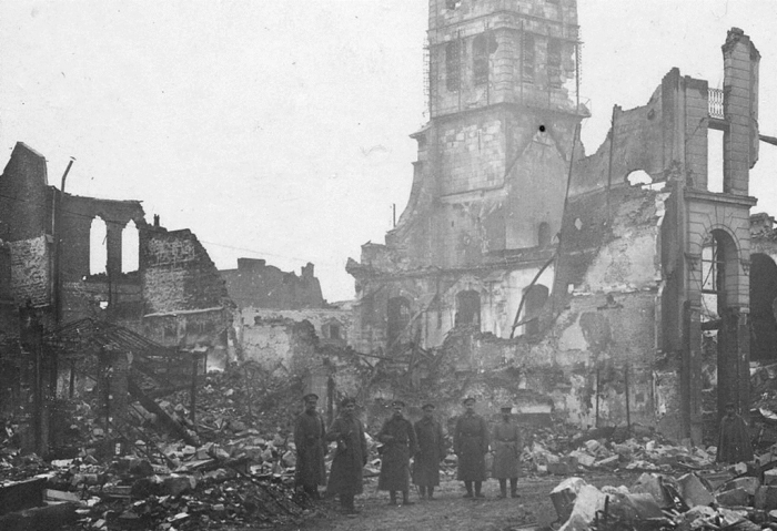 9.9.a Shelling of Saint-Quentin 1917
