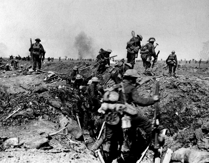 10.1.a british troops attack