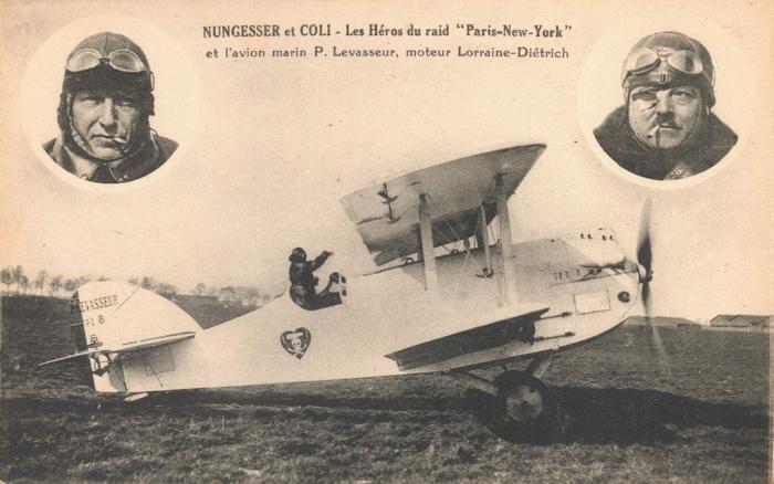 10.3ccc Carte_postale-Nungesser_et_Coli-1927