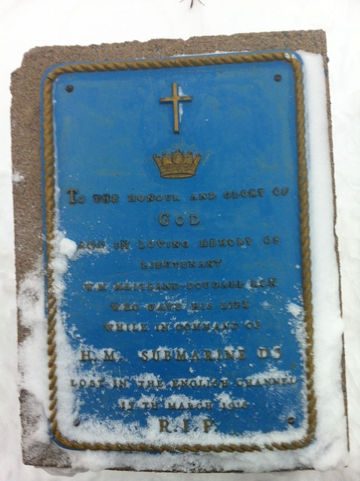 12.3a William_McKinstry_Heriot-Maitland-Dougall_Plaque_CFB_Halifax