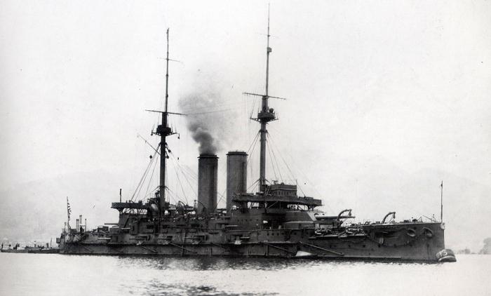 13.1b Japanese_battleship_Mikasa