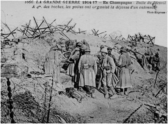 13.2a Butte du MESNIL 1918