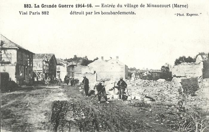 14.3a Minaucourt Butte de Mesnil