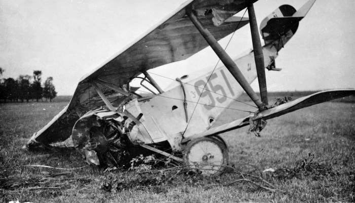 14.3b Air crash WW1 3