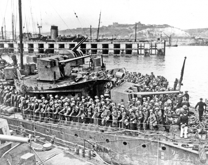 15.2 Dover Admiralty Pier Troop Movement during World War I