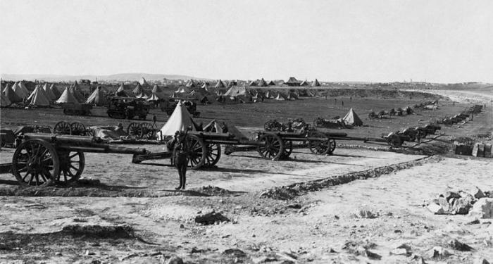 7.3b Ottoman artillery captured