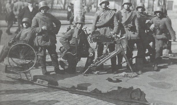 German soldiers after the fall of Helsinki