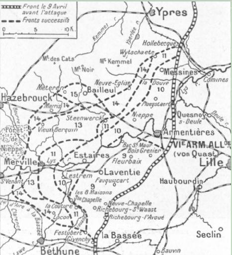 A1 Hebuterne map1918