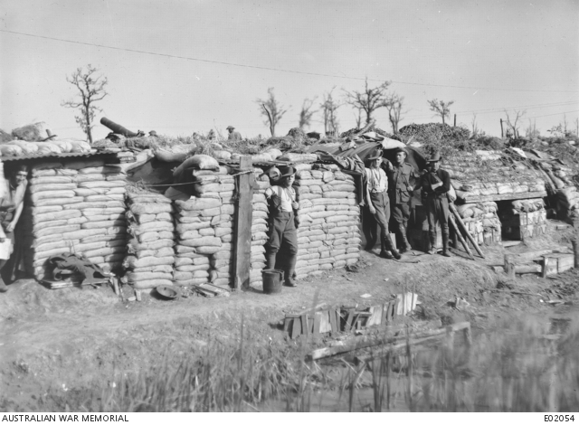 A2 Ypres-Comines canal position