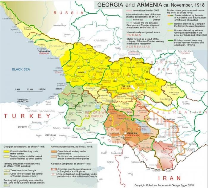 C1 Caucasus region