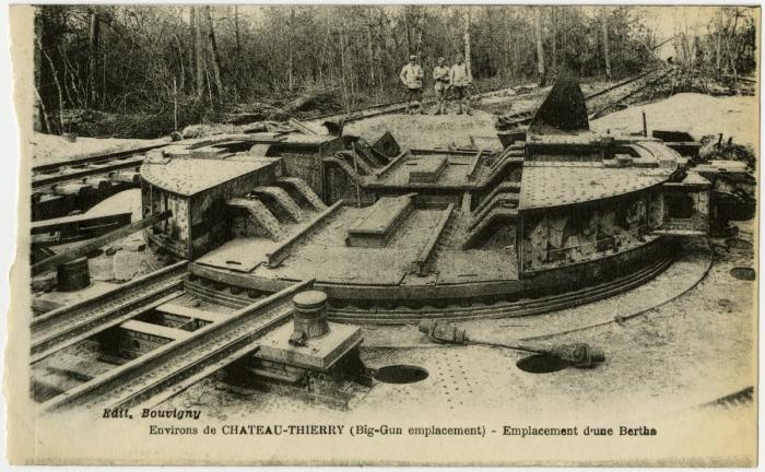 C5 Paris gun emplacement