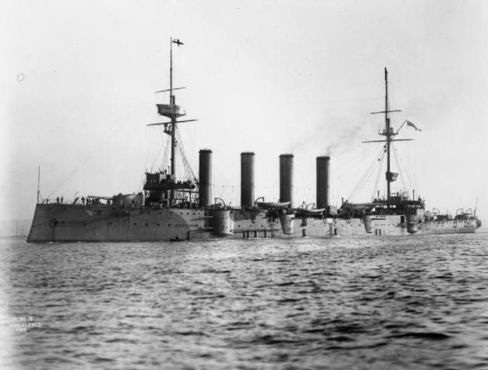 D1 HMS_King_Alfred_(1901)_IWM_Q_021420