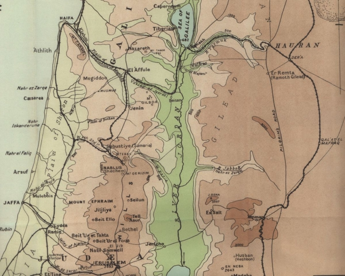 D1 Palestine 1918