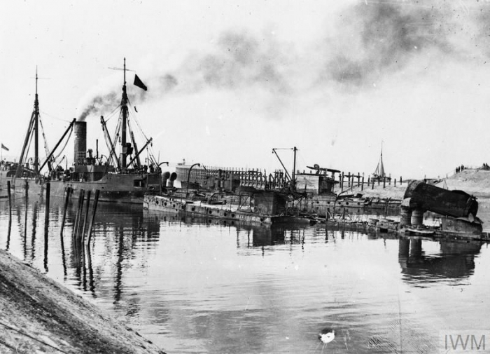THE ZEEBRUGGE RAID, 22-23 APRIL 1918