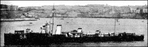 G2 HMS_Jackal_(1911)_at_Malta