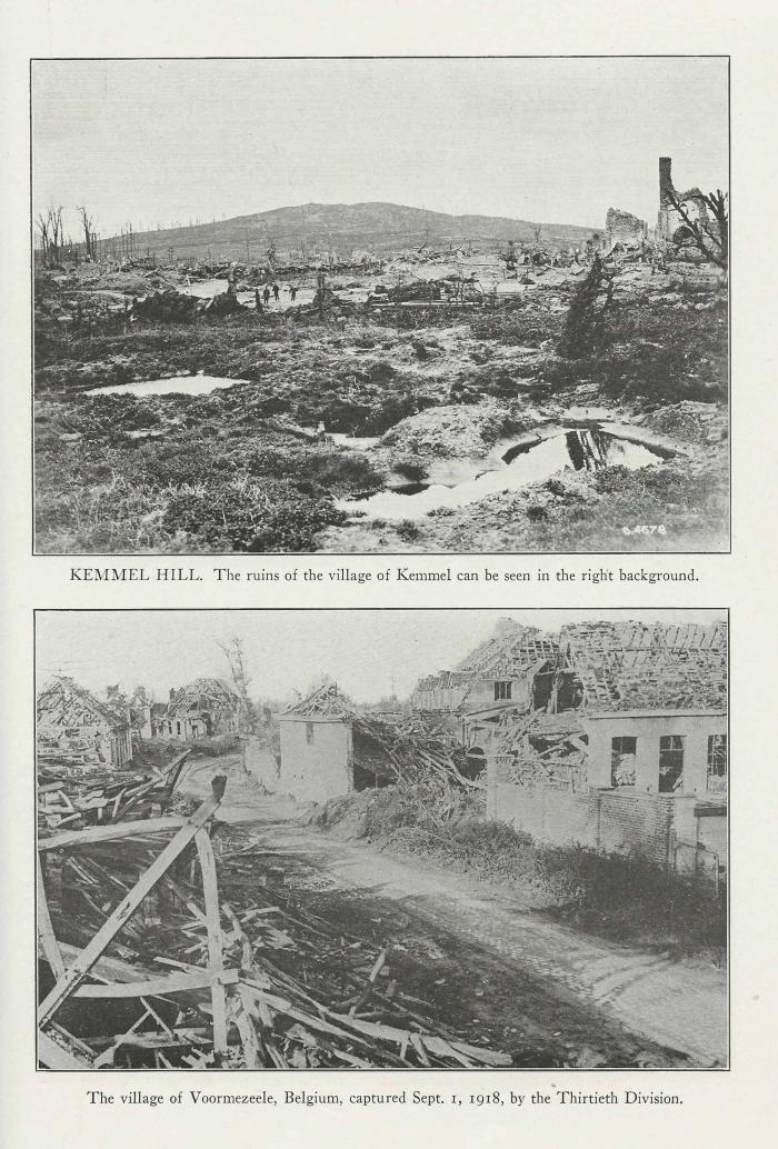 A1 Belgium-Ruins-VOORMEZEELE-AND-KEMMEL-HILL