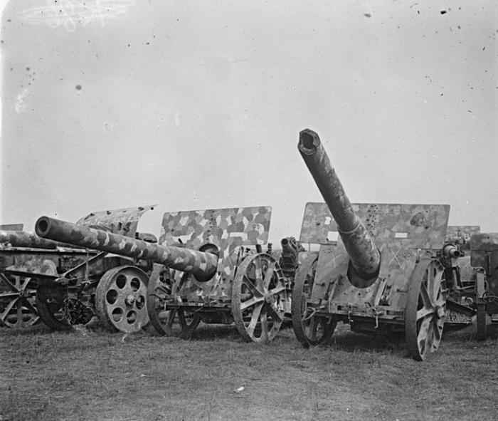 A1 German artillery Somme