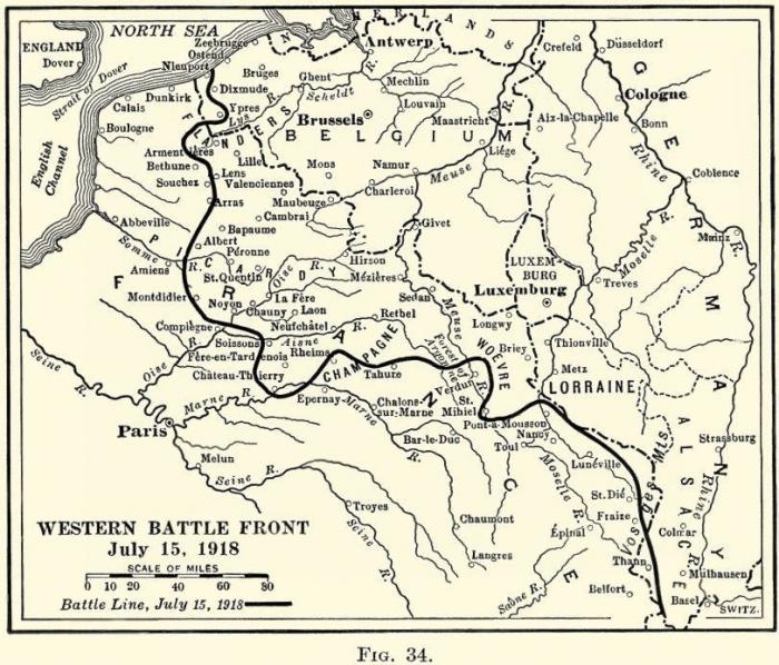 A1 Metz map