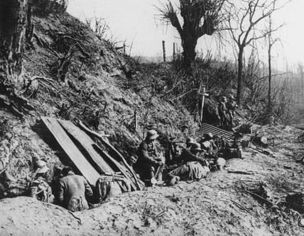 A2 Kemmel trenches 1918