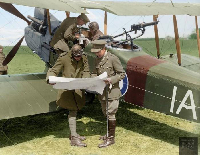 A2 R.E.8 Vert Galand May 1918