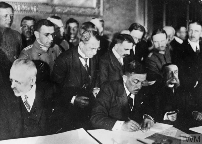 THE TREATY OF BUCHAREST, MAY 1918