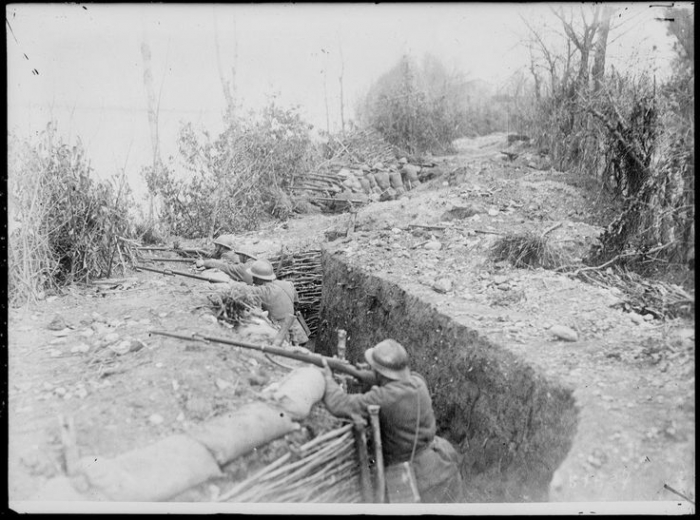 B1 italian front trench may 1918