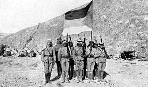 D1 Arab troops Persia