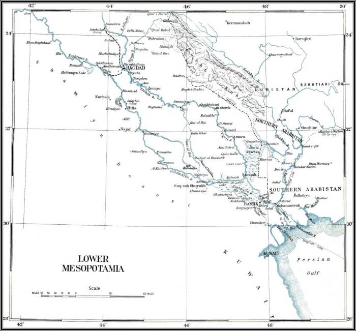 D1 Persia map