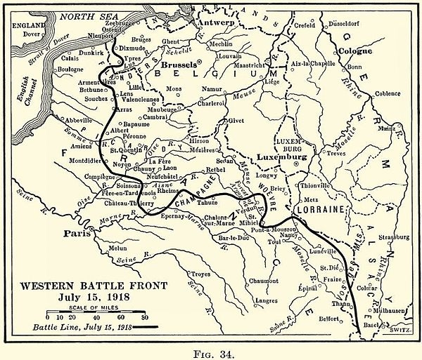 A1 Aisne map