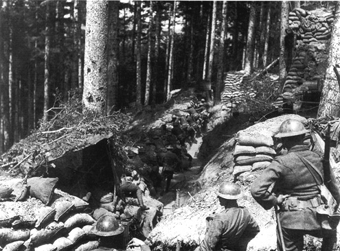 A1 Allied trenches jun 1918