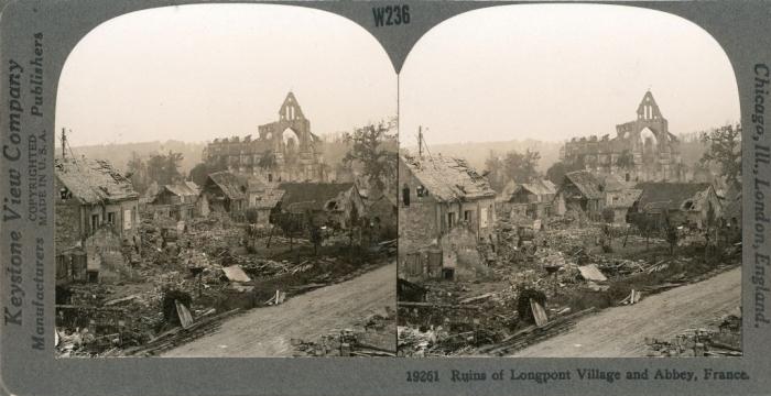 A3 Longpont ruins