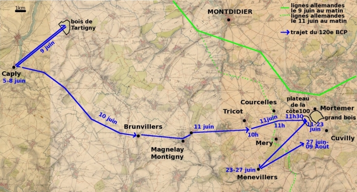 A7 Montdidier map