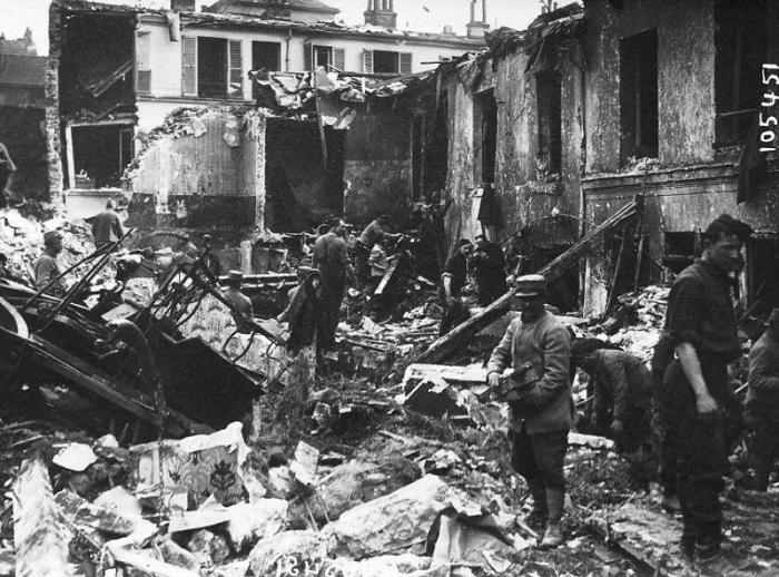B1 Gotha raid od Paris