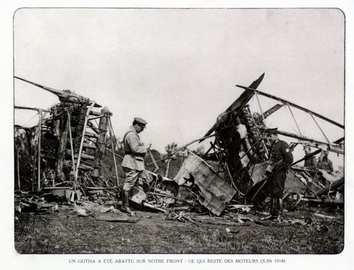 B1 Gotha raid