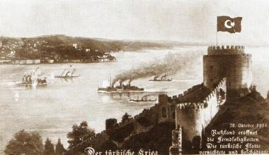 C1 Black sea postcard