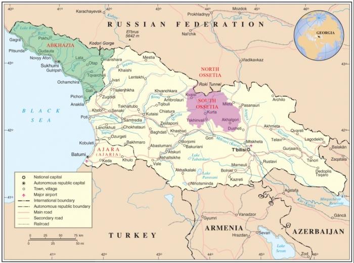 C1 Georgia map