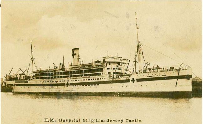 E5 'HM_Hospital_Ship,_Llandovery_Castle'