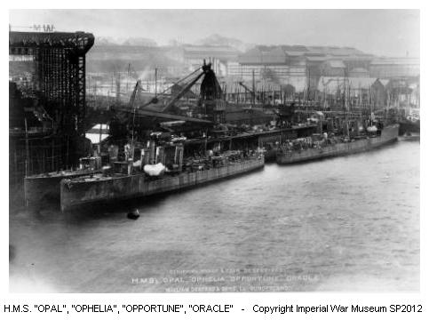 10.9b HMS Ophelia
