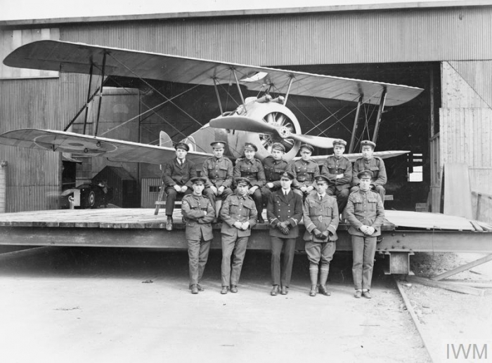 THE ROYAL NAVAL AIR SERVICE 1914 - 1918