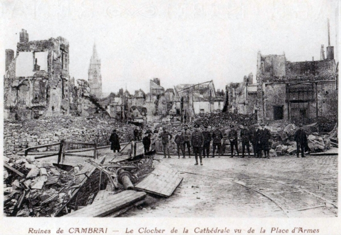 11.9a Cambrai destruction 1918