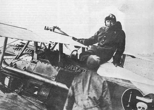 14.8b Charles_Nungesser_and_SPAD_XIII