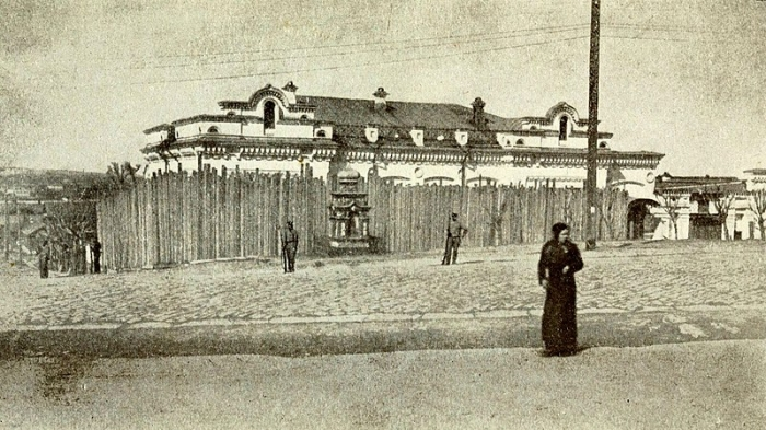 16.7cc Jekateringburg - Ipatieff merchant's house where he was in captivity throughout the Romanov family