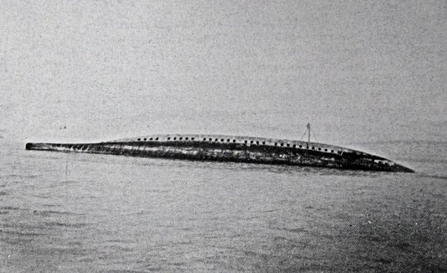 19.9c glatton in dover harbour september 1918