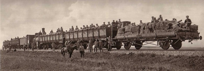 5.7b A train of the Czech Legion
