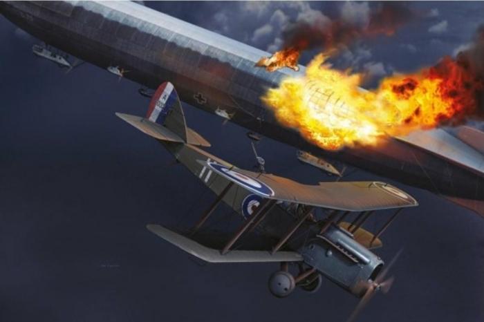 5.8a Zeppelin vs DH.4